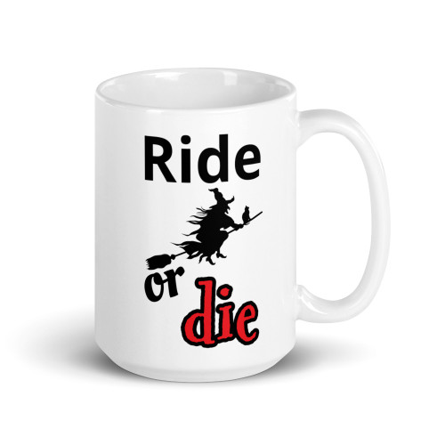 Ride or Die Witch Mug