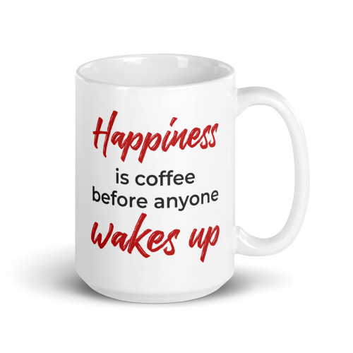 Happiness Is Coffee Mug