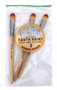 Natural Paint Brushes - Set of 3