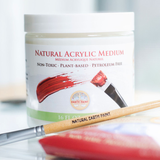NEW! Our Natural Acrylic Medium is Here!