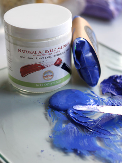 Recipe: Natural Earth Acrylic Paint