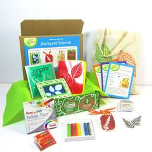 Natural Earth Paint Featured in Backyard Science Discovery Box from Green Kid Crafts!