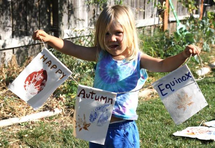 Fall Equinox Nature Art Projects