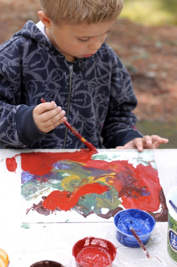 5 Nature Art Projects for Toddlers