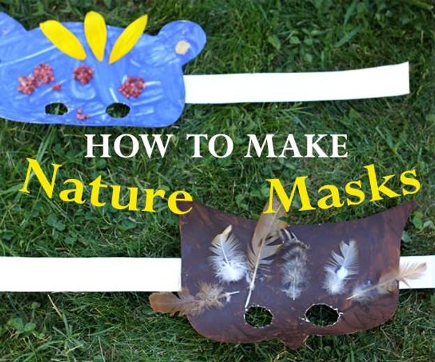 How to Make Nature Masks