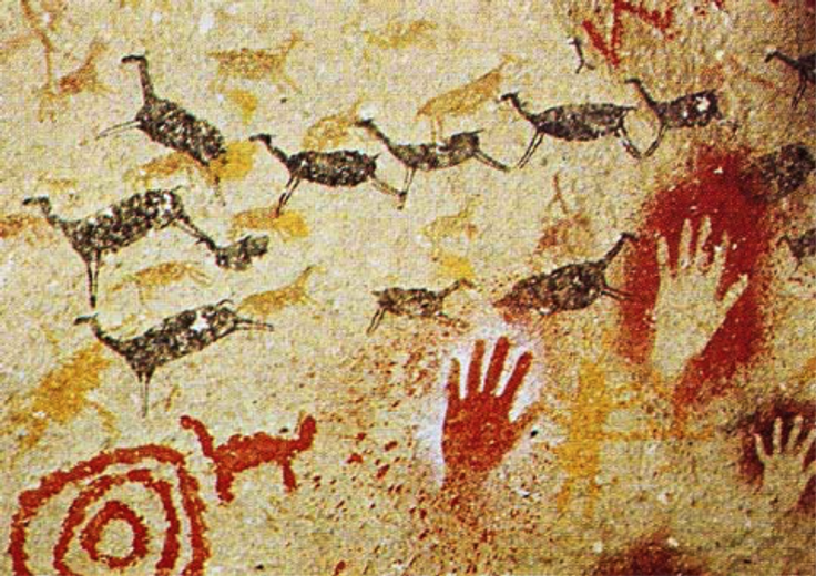 Natural Earth Paint through the Ages: The Prehistoric Era