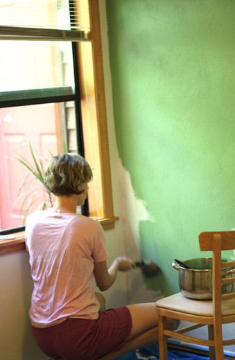 Recipe: Natural Clay House Paint