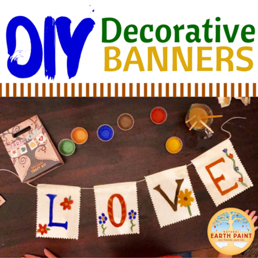D.I.Y Decorative Banners
