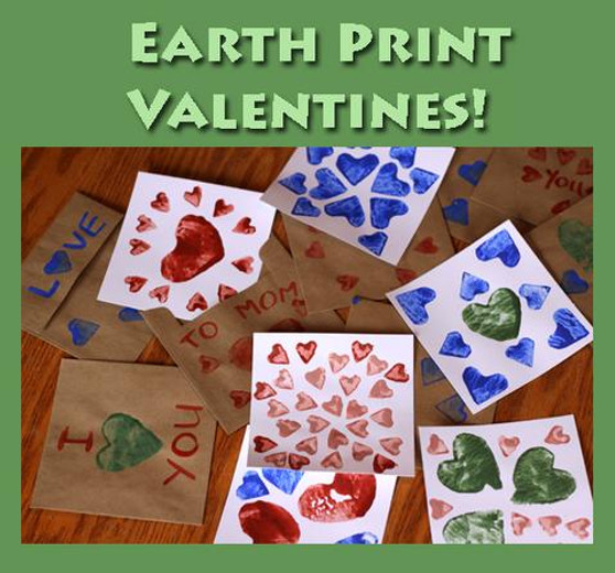 Earth Art Valentine's