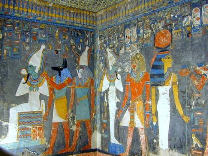 Natural Earth Paint Through The Ages: Ancient Egypt