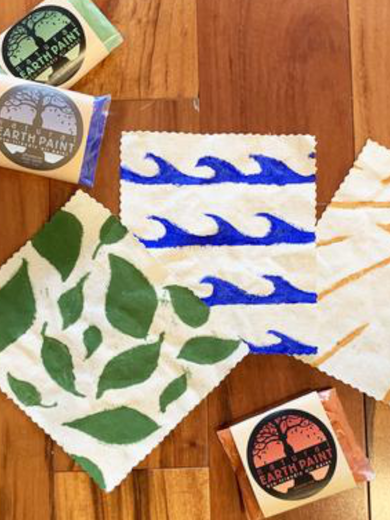 DIY Natural Fabric Paint with Earth Pigments