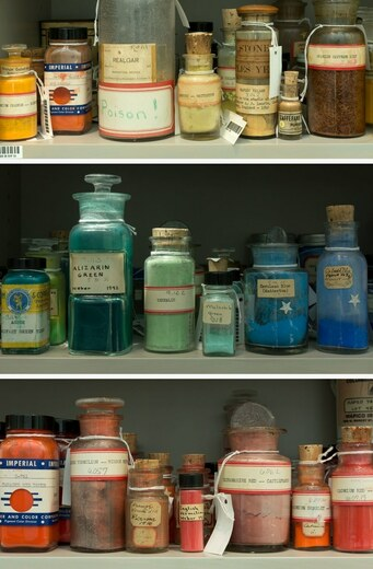 Natural Earth Paint Through the Ages: The Colormen