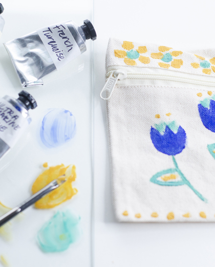 Recipe: Eco-Friendly & Permanent Fabric Paint