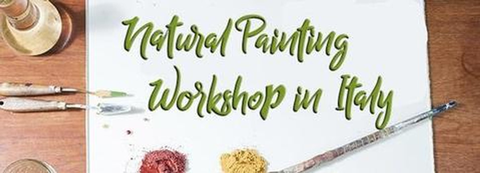 Natural Painting & Fresco Workshop in Italy 2019 May 07 2018