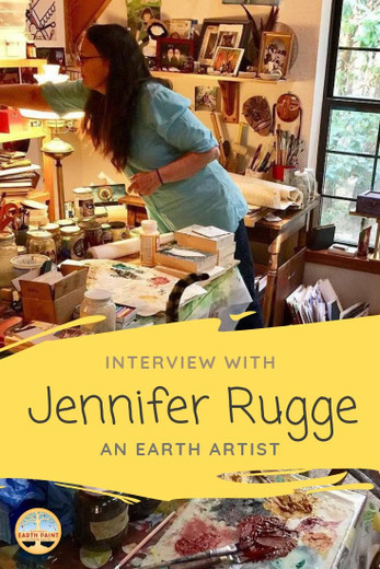Interview with Jennifer Rugge: Earth Artist