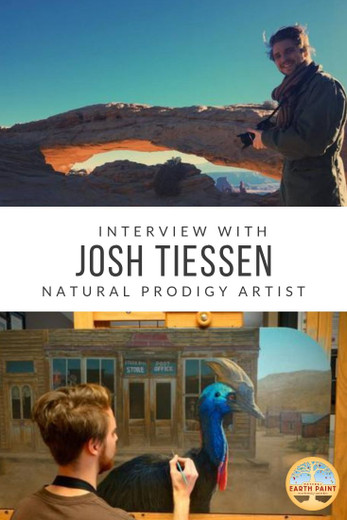 The Life of a Natural Prodigy Artist with Josh Tiessen