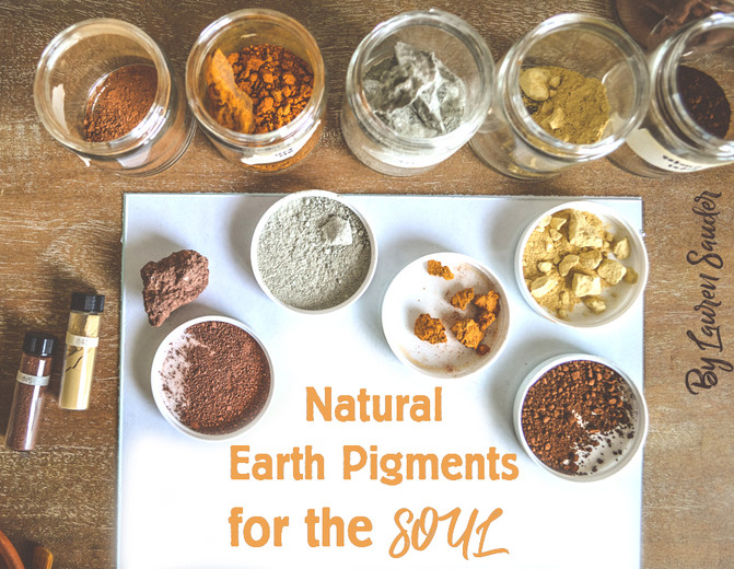 Natural Earth Pigments for the Soul