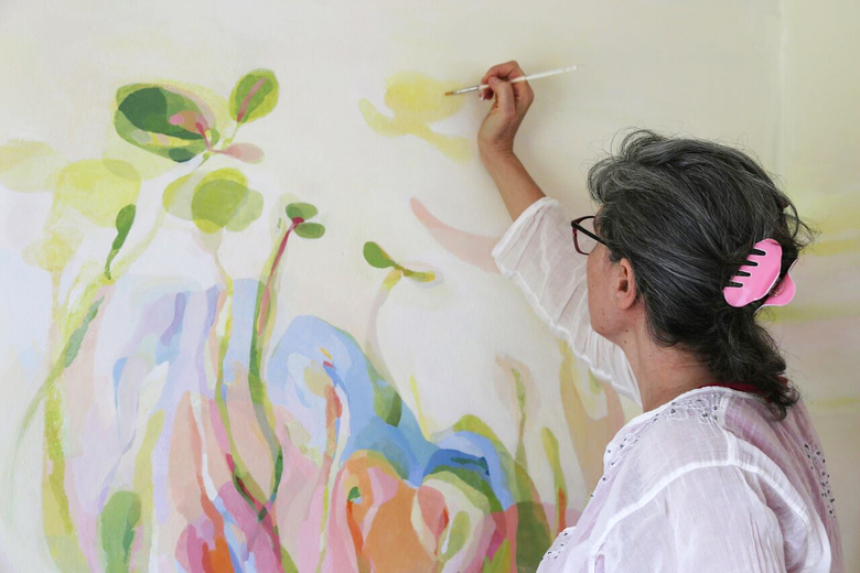 Recipe: Natural Earth Mural Paint