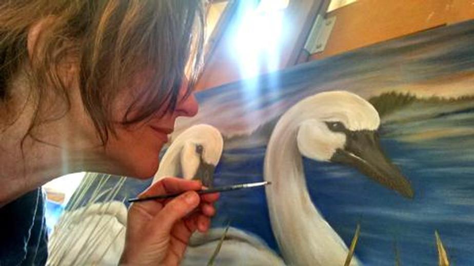 Eco Artist and Survivor Finds Love through Earth Art
