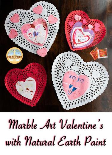 Natural Marble Art Valentine's!
