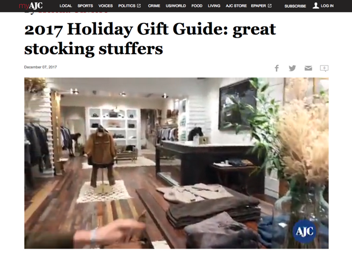 The Atlanta Journal-Constitution: 2017 Holiday Gift Guide: great stocking stuffers