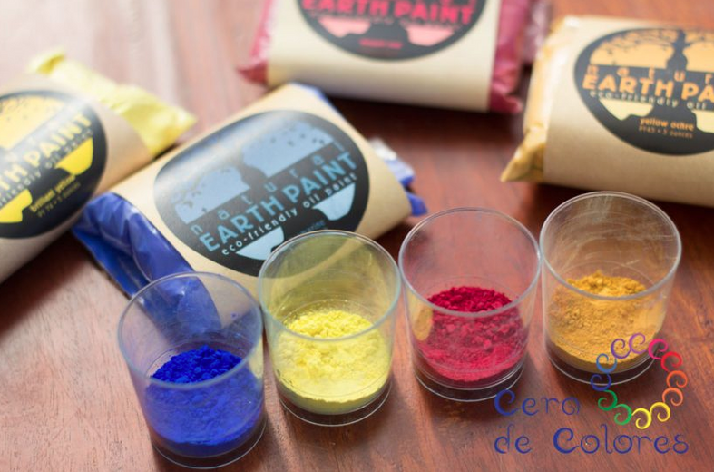 Blogged on Cera de Colores: The use of Natural Earth Paint in Art Therapy