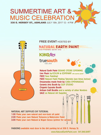 Join us for our FREE Community Event: Summertime Art & Music Celebration!