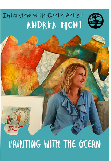Interview with Andrea Moni: Earth & Ocean Artist