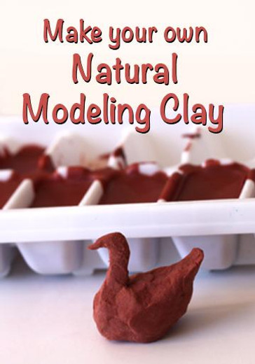 Make your own Natural Modeling Clay