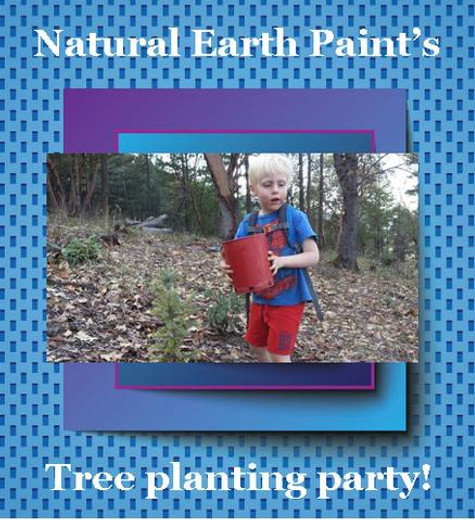 Tree Planting Party! February 28 2014