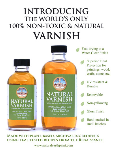 The World's First Natural Varnish Has Arrived!!!!