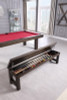 Plank and Hide Warren Dining Pool Table