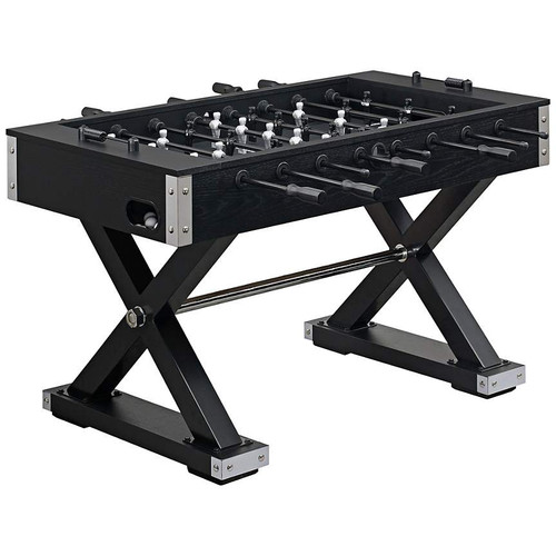 AMERICAN HERITAGE ELEMENT BLACK FOOSBALL TABLE -BLACK