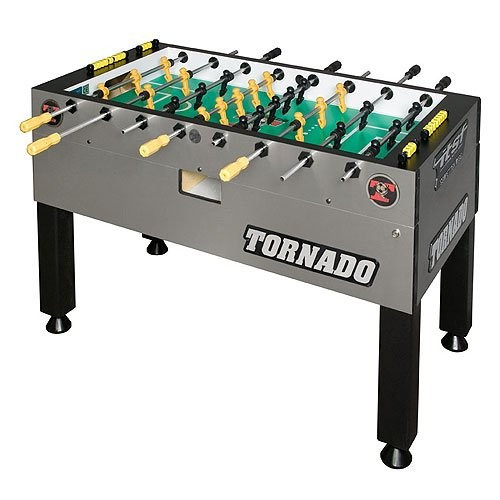 NEW TORNADO T3000 FOOSBALL TABLE. SCRATCH AND DENT MODEL.