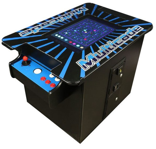 """JUMBO COCKTAIL ARCADE WITH 24"""" SCREEN AND TRACKBALL - COMMERCIAL GRADE"""