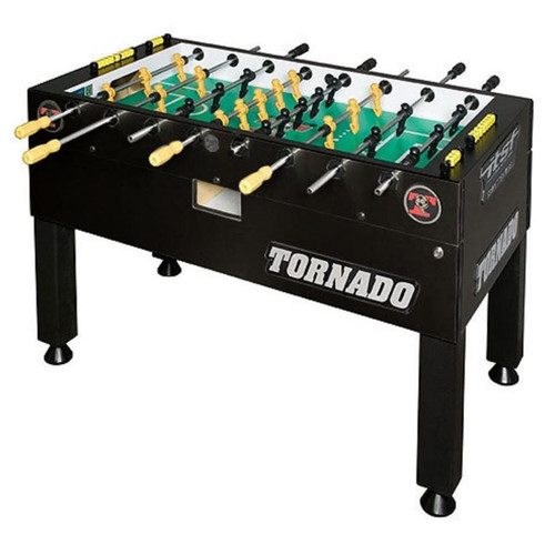 TORNADO TOURNAMENT T3000 FOOSBALL TABLE - BLACK