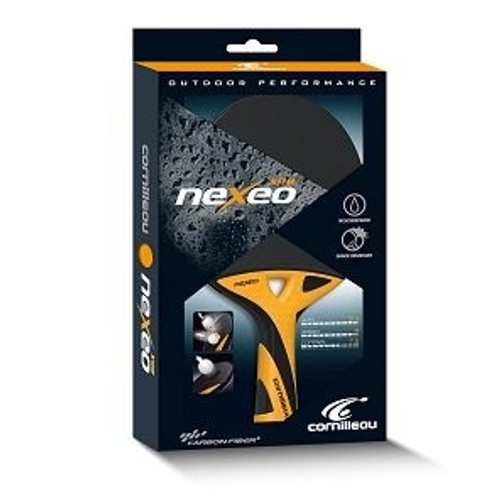 CORNILLEAU NEXEO X90 WEATHERPROOF TABLE TENNIS RACKET WITH CARBON