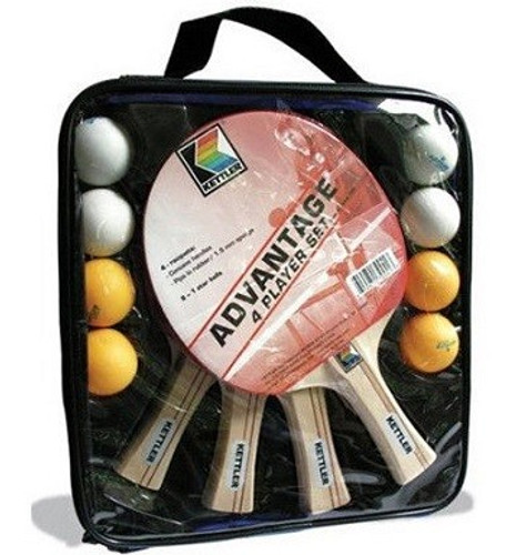 KETTLER ADVANTAGE 4 PLAYER PING PONG SET