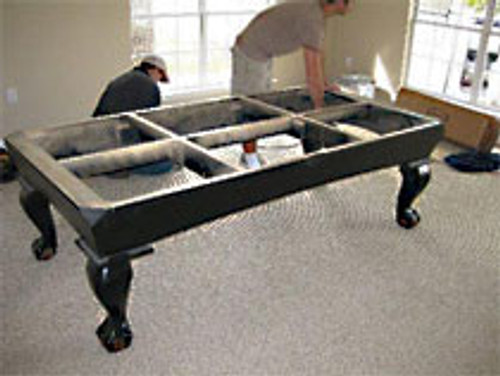POOL TABLE DISMANTLE
