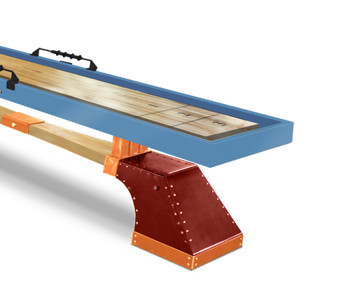 MAXWELL Shuffleboard Table w/Accessories by KUSH