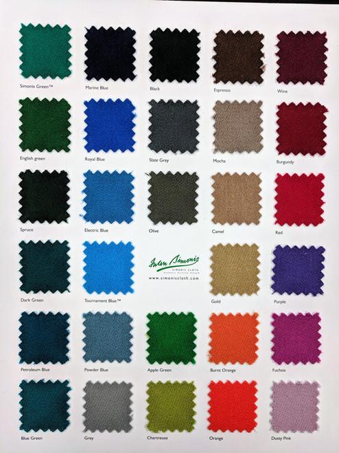 Simonis Billiard Cloth  Thumbnail 1