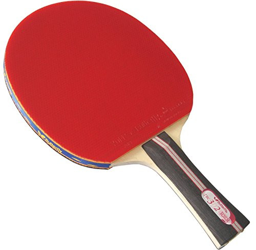 Butterfly 302 Shakehand Ping Pong Paddle W/Case