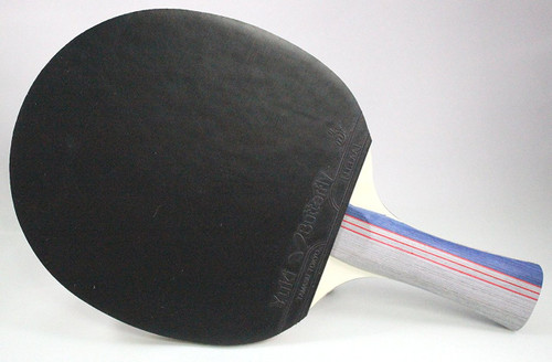 Butterfly 302 Shakehand Table Tennis Racket back view