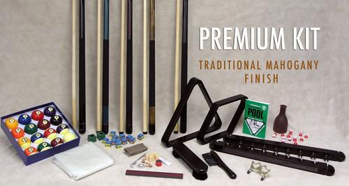 Platinum Accessory Kit - Traditional mahogany finish view 2