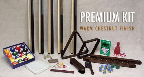 Platinum Accessory Kit - warm chesnut finish view 2