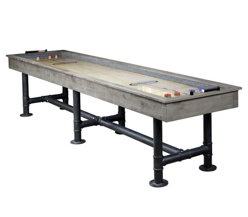 9 to 12 Foot Bedford Shuffleboard Tables - side view