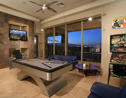 American Made Metal Arch Pool Table
