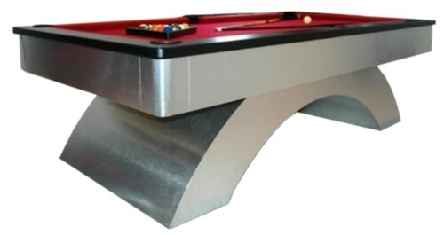American Made Metal Arch Pool Table view 1