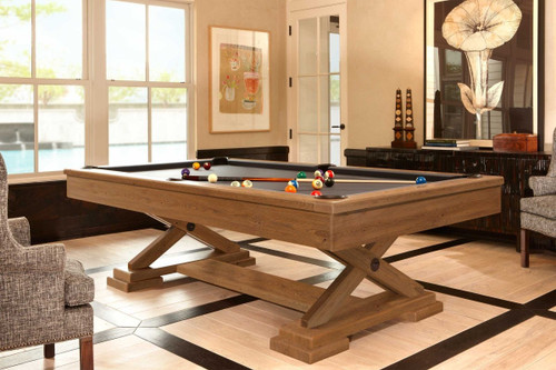 Brunswick Brixton Modern Pool Table - Full View 2