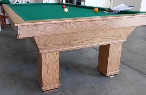 Carom Billiard Pool Table - NO POCKETS, 3 CUSHION, 3 BALL BILLIARD - Full View 1